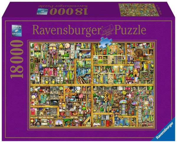 Magical Bookcase Adult Puzzles Jigsaw Products