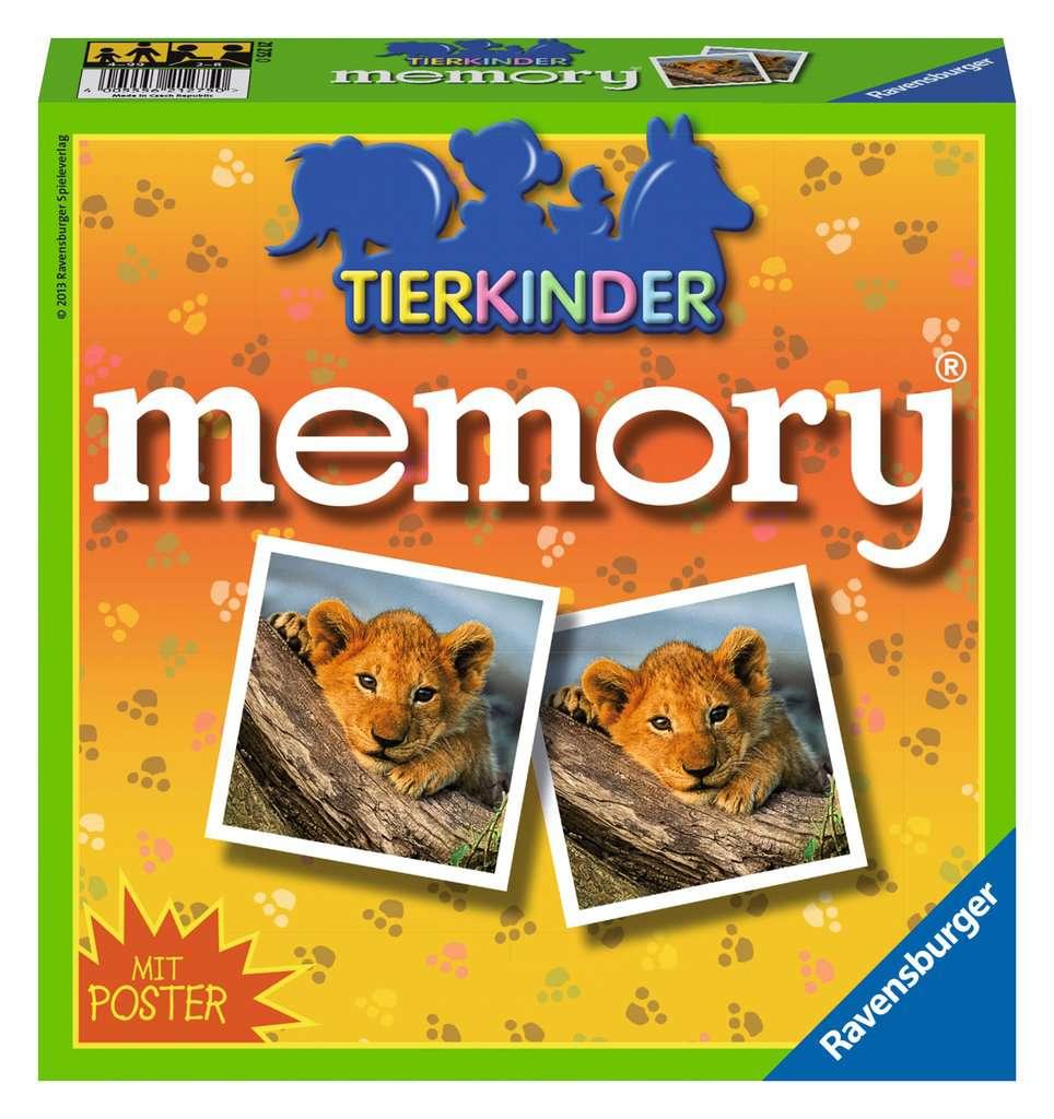 Tierkinder memory Bild 1 Klicken zum Vergern