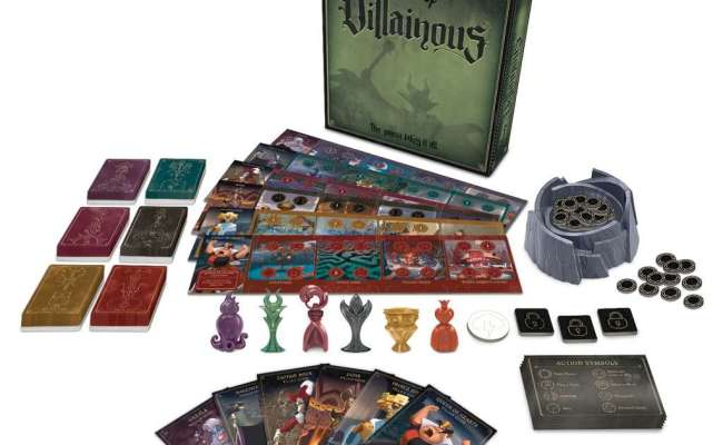 Disney Villainous Strategy Games Games Products