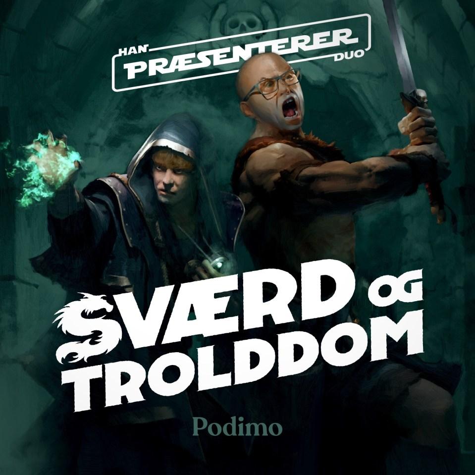 Han Duo præsenterer: Sværd og Trolddom - Troldmanden fra Ildbjerget 1:2 - Han  Duo | Lyssna här | Poddtoppen.se