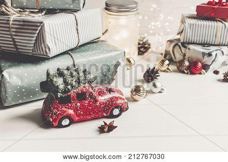 Automobile Christmas Ornaments