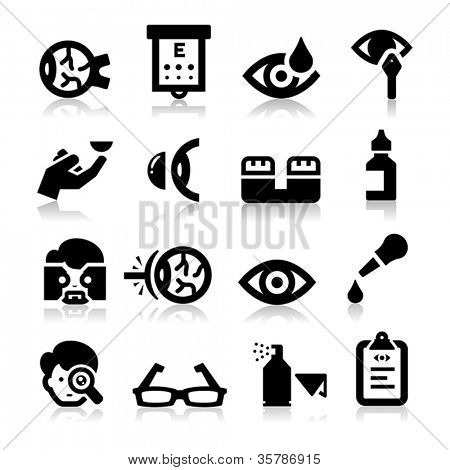 Stock Photo of Optometry symbols, Royalty-Free Images