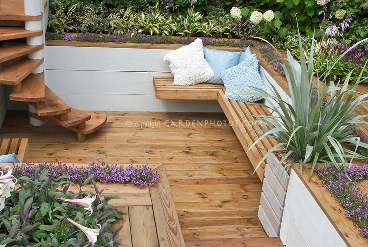 Deck Vegetable Garden