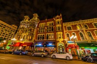 Gaslamp Quarter, Downtown San Diego, California USA ...