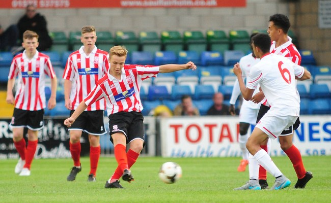 Football Football Friendly Lincoln City U18 V Liverpool U18 Thursday 23rd July 2015