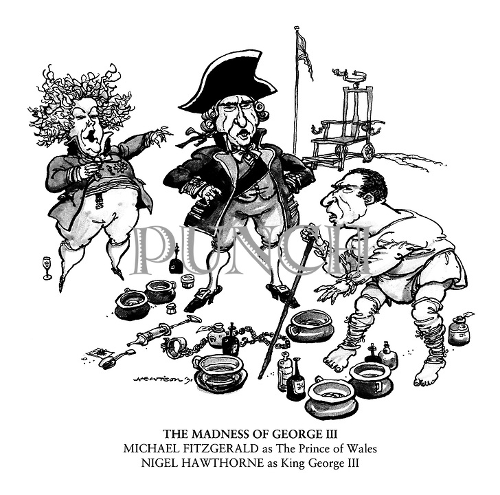 Theatre Cartoons from Punch magazine by William Hewison