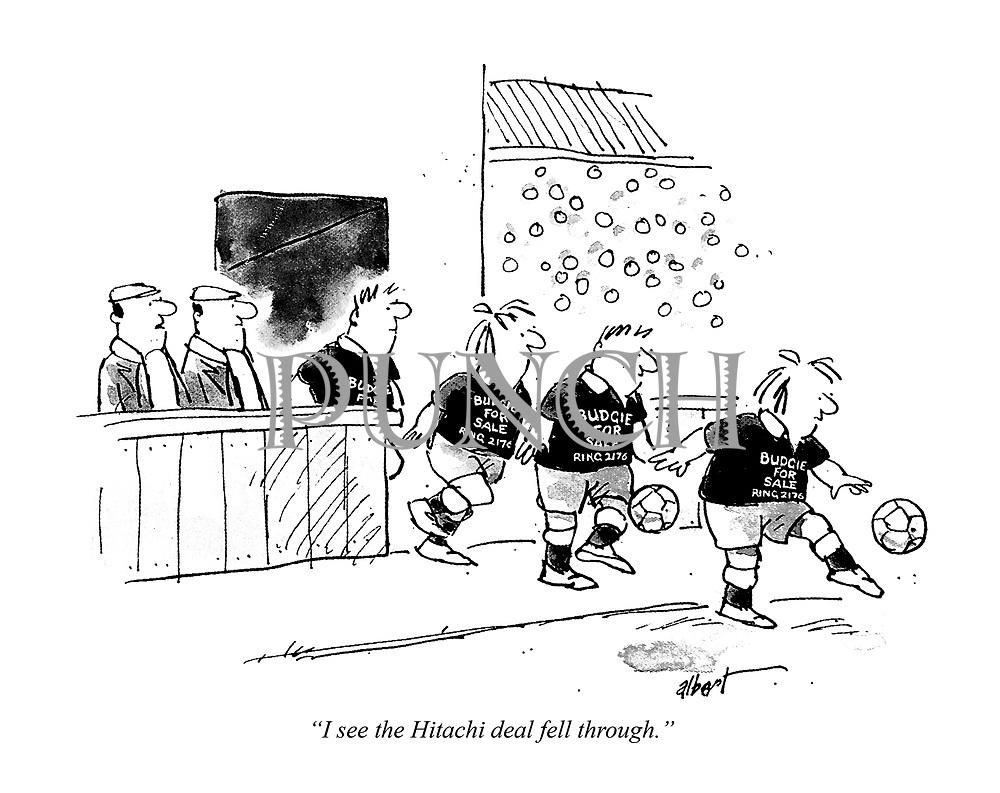 Albert (Albert Rusling) Cartoons from Punch magazine