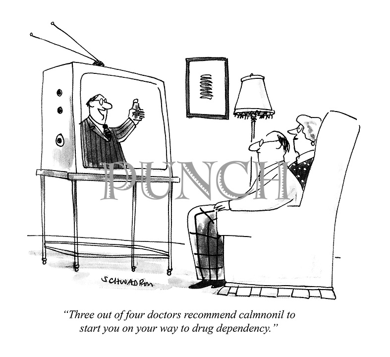 Cartons about Health, Medicine and Doctors from Punch