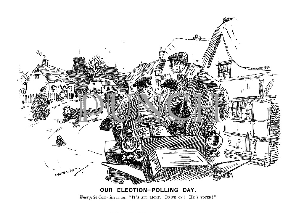 Edwardian Era Cartoons from Punch magazine by Leonard
