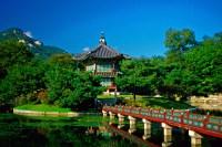 Hyangwonjong Pavilion (Loyal Family's private rear garden ...