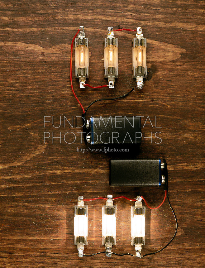 Compare The Circuits Series Circuit Parallel Circuit Dimmer Bulbs