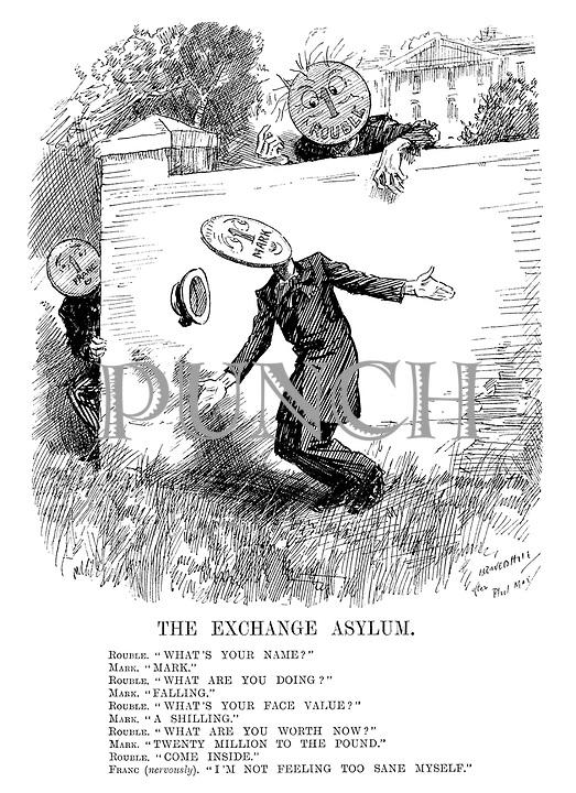 InterWar cartoons from Punch magazine by Leonard Raven