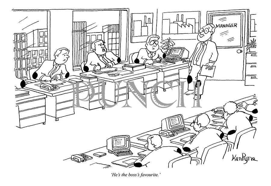 Cartoons Leadership Office
