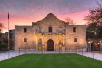 From San Antonio, Texas, the Alamo stands as a reminder ...