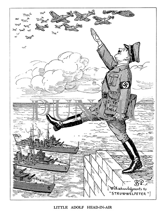 WW2 Cartoons from Punch magazine by Bernard Partridge
