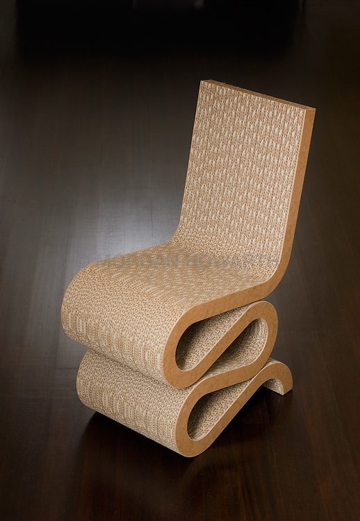 frank gehry cardboard chairs tall gas cylinder for office chair curvy corregated wiggle furniture