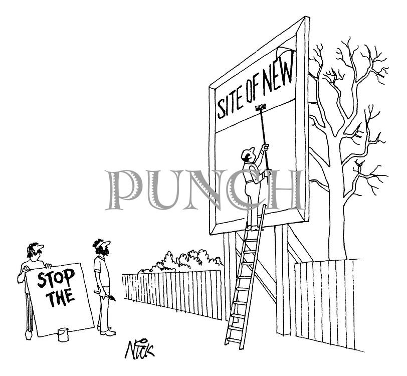 Nick (Nicholas Hobart) Cartoons from Punch magazine