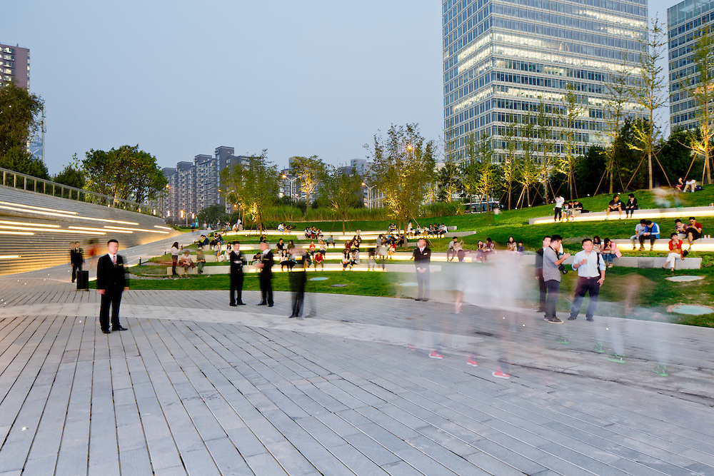 Landscape Design Zaha Hadid