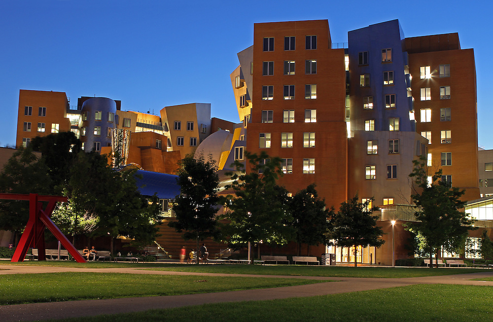 The Ray And Maria Stata Center At MIT Juergen Roth