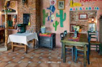 Tex Mex Mexican restaurant in Prnu, Estonia. Decorated ...