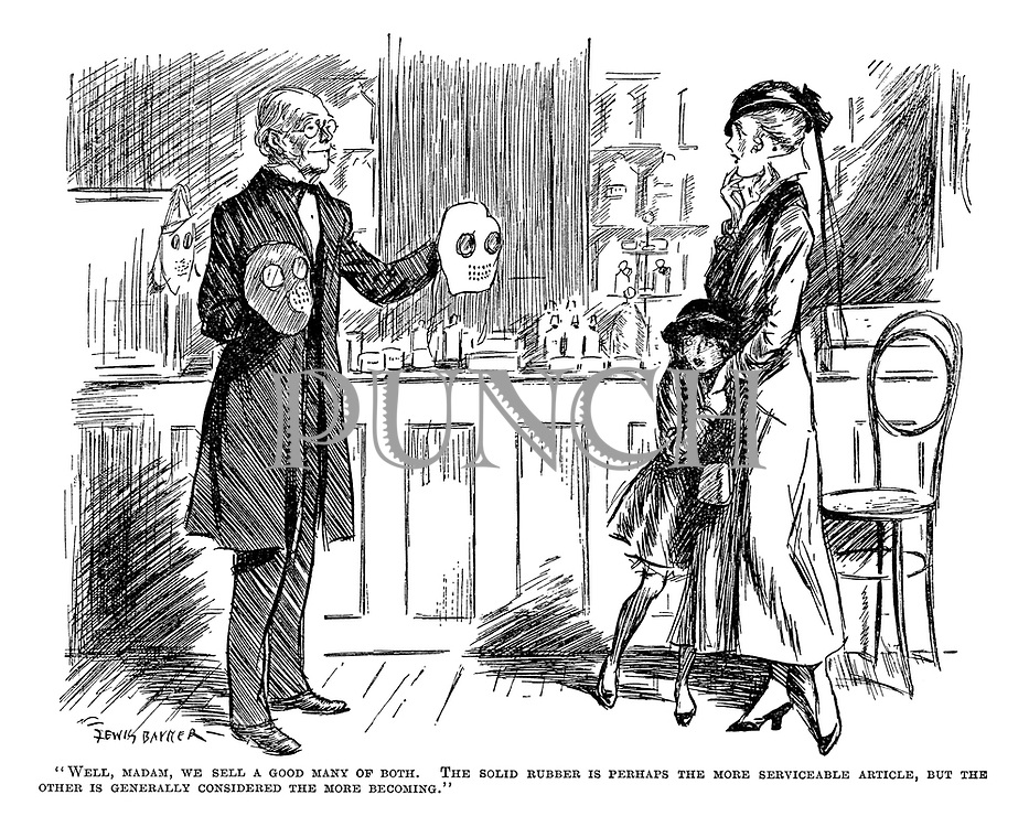 Punch Cartoons On WW1, The Great War