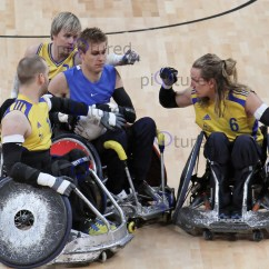 Wheelchair Olympics Leather Chair Ottoman London International Invitational Rugby Tournament April 18 Sweden V Great Britain At The