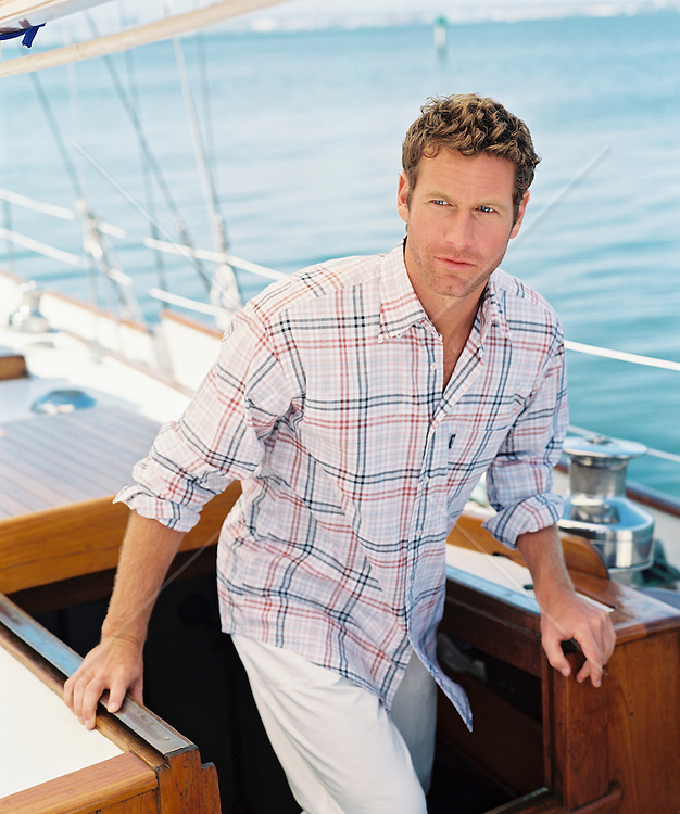 Man On A Yacht In San Diego, Ca  Rob Lang Images