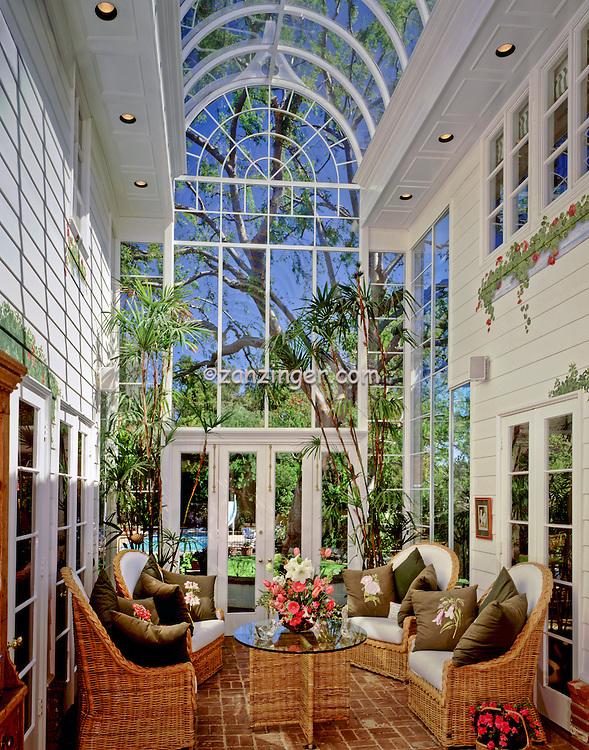 Residential InteriorExterior Enclosed Sunroom Patio