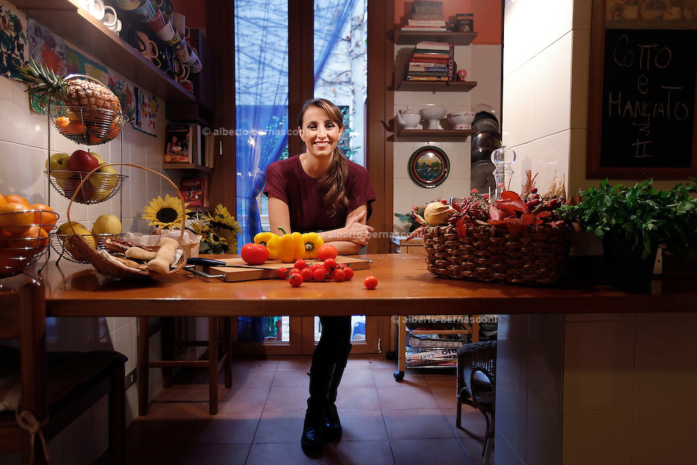 Benedetta PARODI autrice di Cotto e mangiato  alberto bernasconi