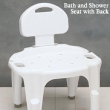 Carex Adjustable Bath and Shower Seat  North Coast Medical