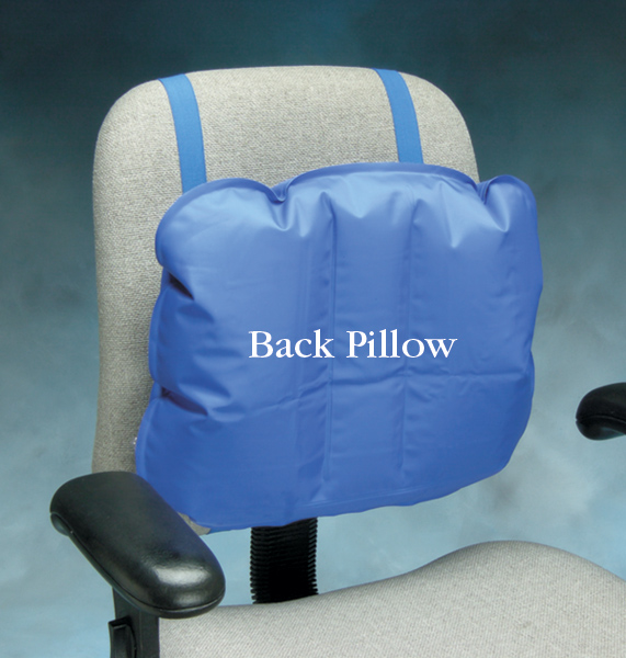 ergonomically correct chair gaming and desk medic-air inflatable support pillows | north coast medical