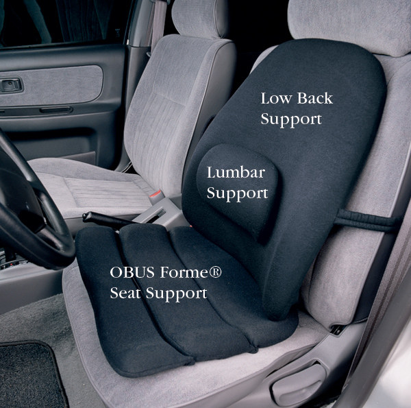 Obus Forme Seat and Back Supports  North Coast Medical