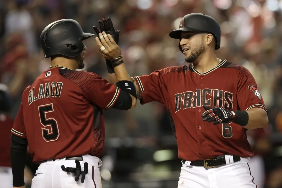 D Backs Pull Away From Brewers With Late Homers