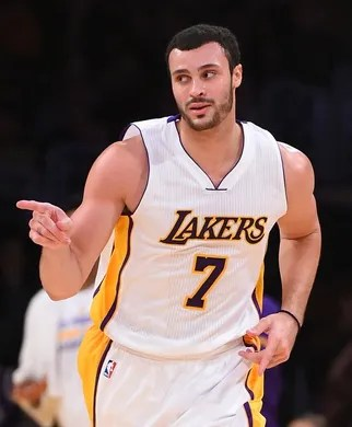 Larry Nance Jr #7, Chicago Bulls at Los Angeles Lakers