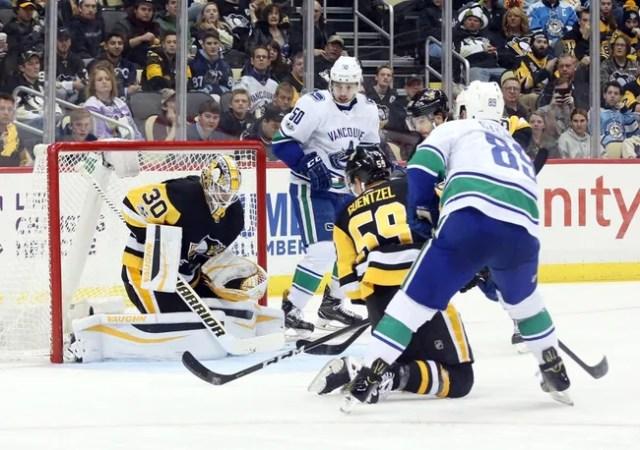 Pittsburgh Penguins vs. Vancouver Canucks - 10/16/18 NHL Pick, Odds, and Prediction