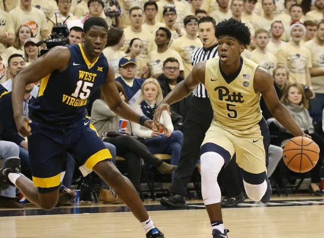 Image result for Pittsburgh Panthers vs. West Virginia Mountaineers College Basketball
