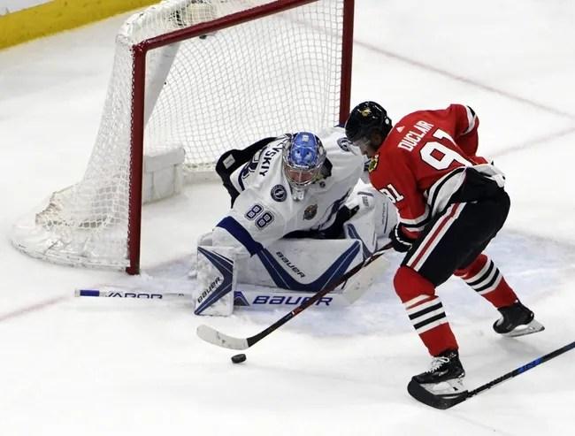 Chicago Blackhawks vs. Tampa Bay Lightning - 10/21/18 NHL Pick, Odds, and Prediction