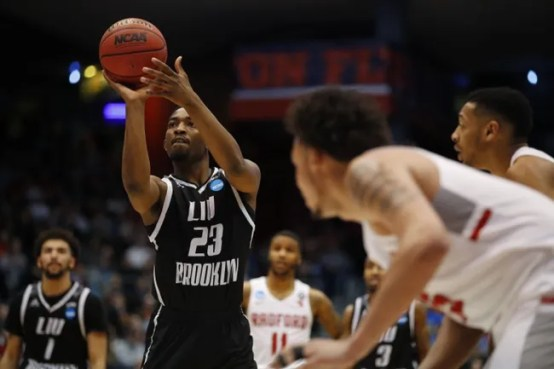 Image result for Marist Red Foxes vs. LIU Brooklyn Blackbirds college basketball
