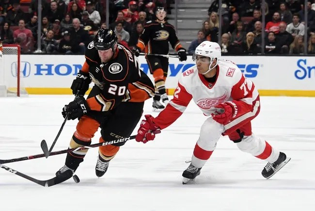 Anaheim Ducks vs. Detroit Red Wings - 10/8/18 NHL Pick, Odds, and Prediction