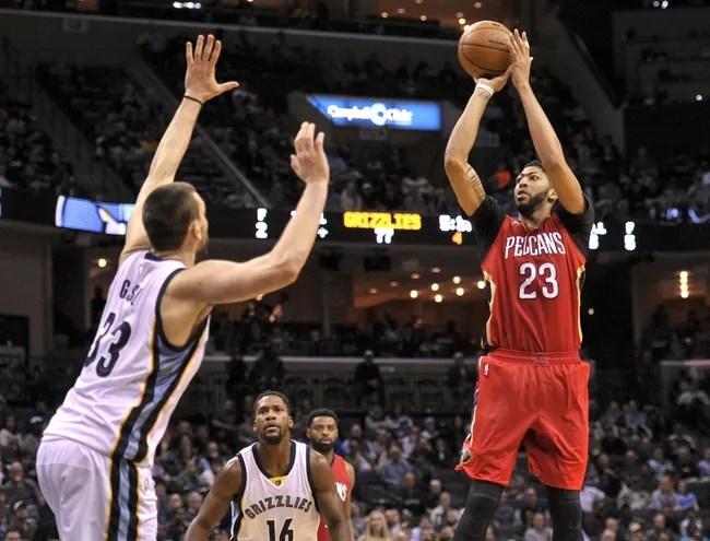 New Orleans Pelicans vs. Memphis Grizzlies - 3/21/17 NBA Pick, Odds, and Prediction