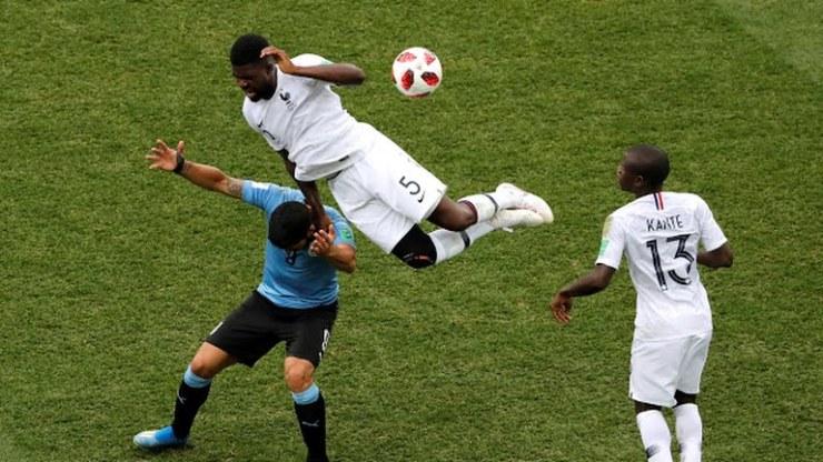 2018 World Cup: France defeats Uruguay 2- 0 (Photos)