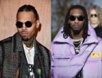 """Chris Brown call Offset To """"Fight him"""" Over 21 Savage (READ MORE)"""