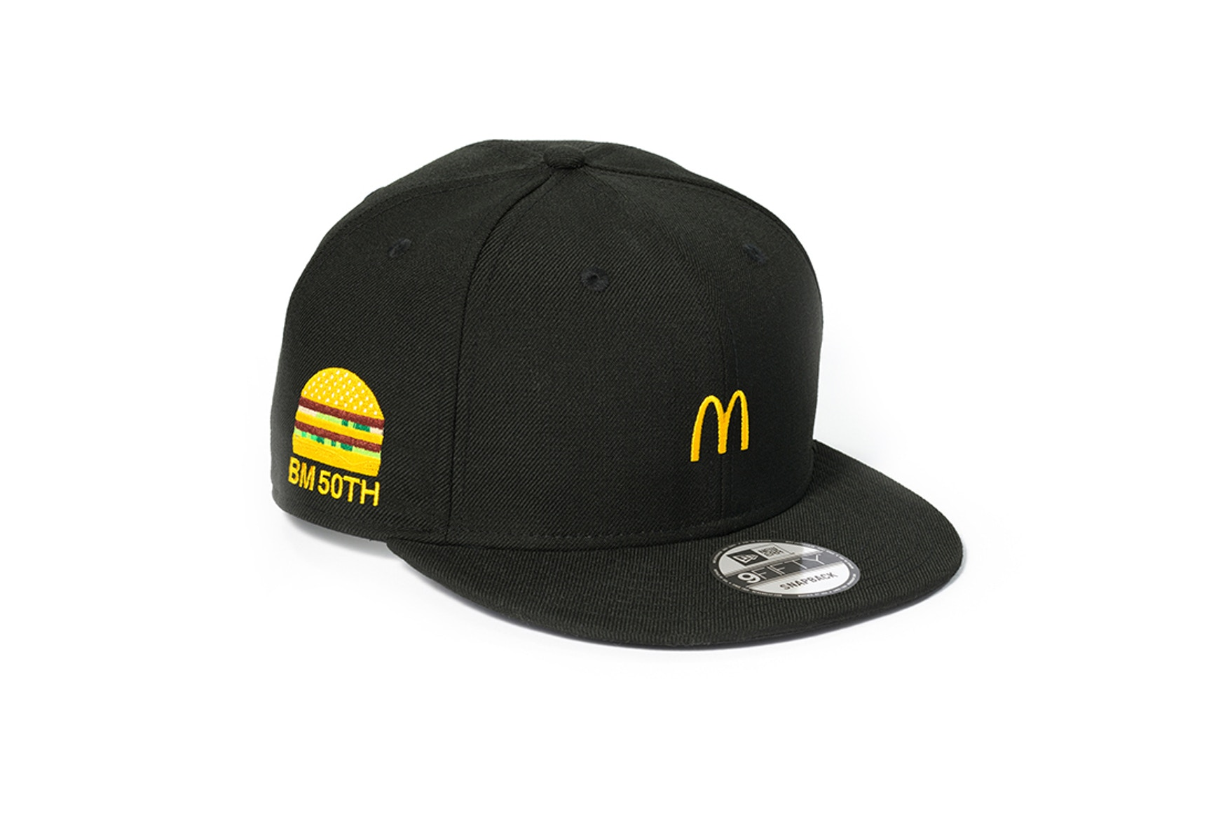 Mcdonald's Partners With Gshock & New Era For 50 Year Big