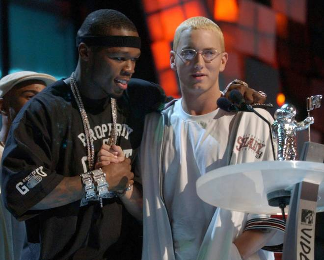 Eminem 50 Cent Diss Ja Rule On The Same Day Like It S 2003 The