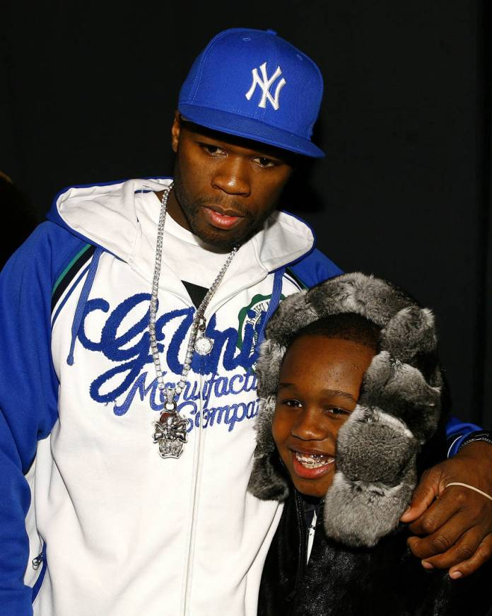 50 cent hot 97 marquis jackson son petty