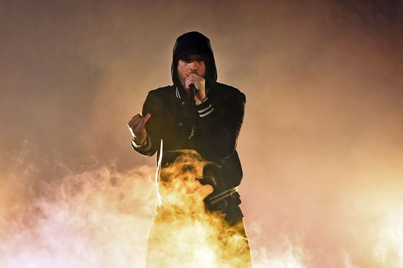 Eminem Music To Be Murdered By Gold