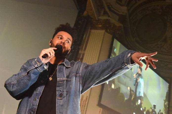 The Weeknd Postmates order history receipts delivery service partnership food restaurants