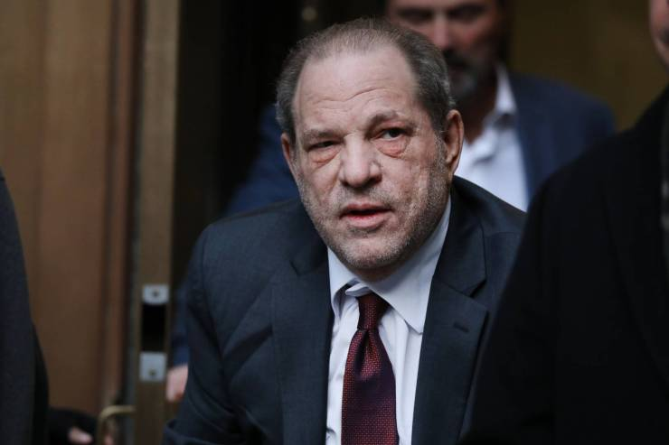 Harvey Weinstein convicted rapist disgraced film producer movie coronavirus test positive diagnosis doing well contract