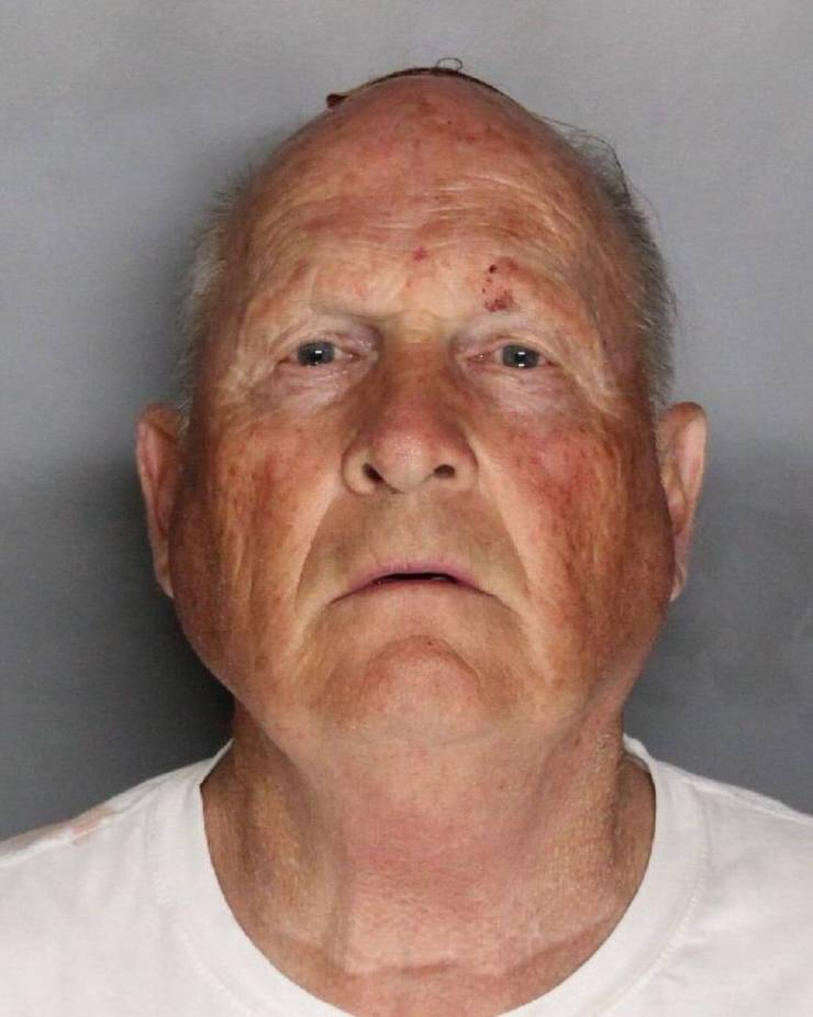 golden state killer mugshot