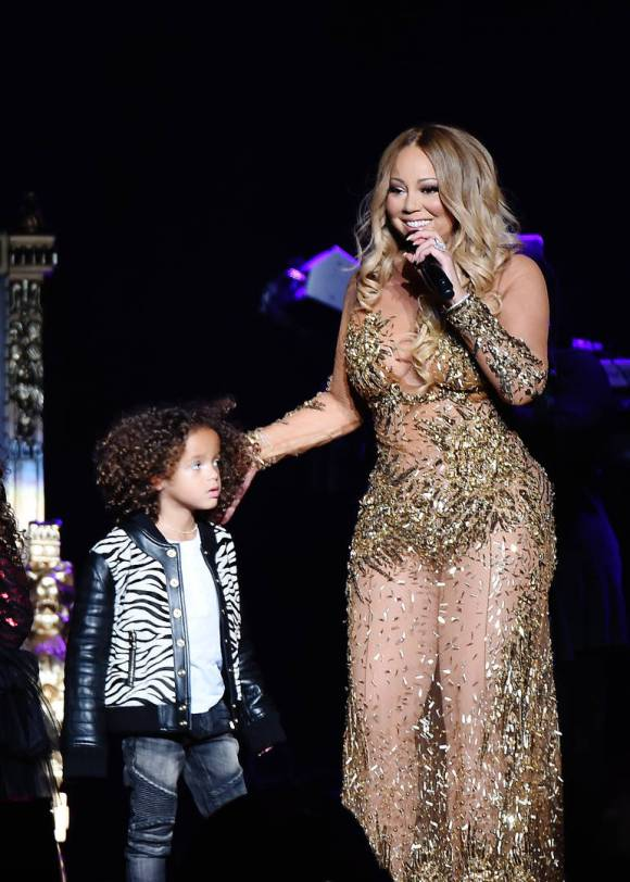 mariah carey and her son morrocan